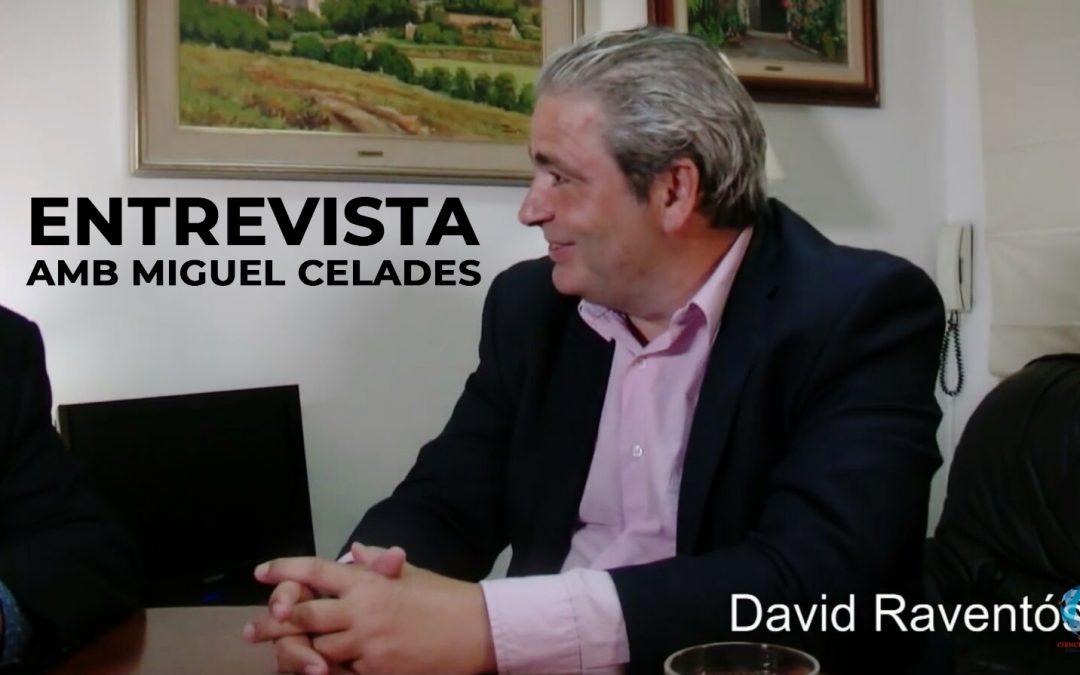 Entrevista amb Miguel Celades