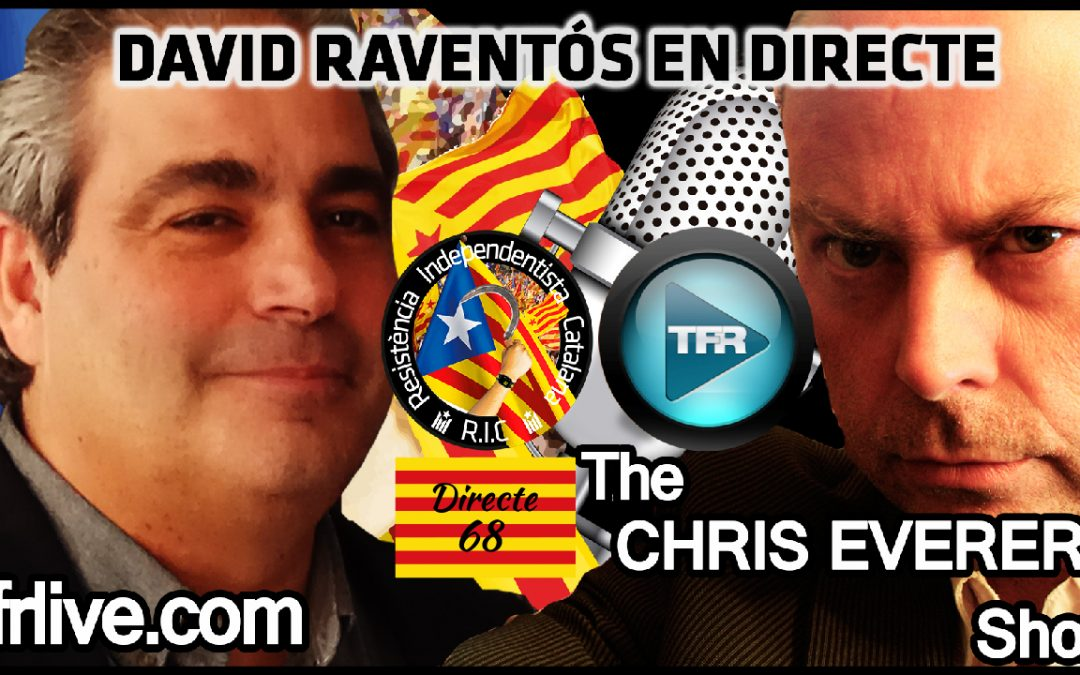 David Raventós al programa de CHRIS EVERARD – Truth Frequency 13/05/2018