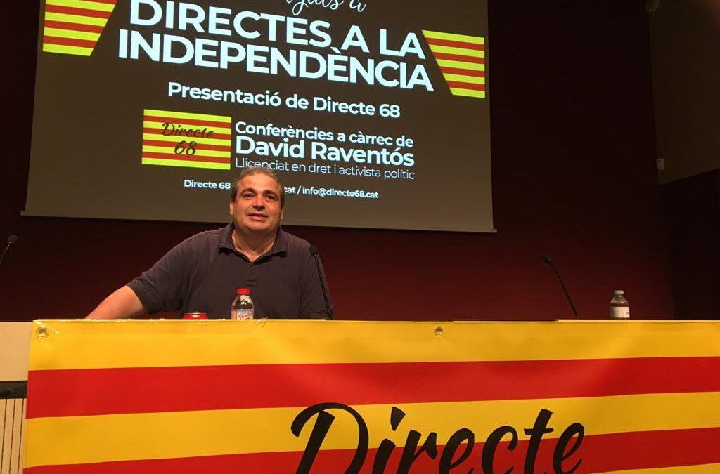 Conferència DIRECTES A LA INDEPENDÈNCIA a Vilafranca del Penedès – VINSEUM