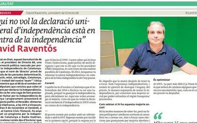 """Article de premsa al diari """"EL 3 DE VUIT"""""""